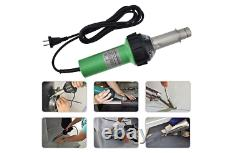 S SMAUTOP 1600W Plastic Welder Welding Hot Air Gun with Speed Nozzles Roller Pe