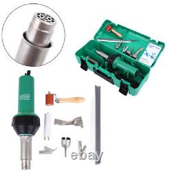 Samger 1600W Hot Air Torch Plastic Welding Gun Set Welder Pistol Tool withABS Case