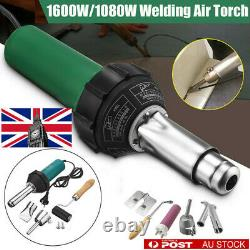 Samger 1600With1080W Hot Air Torch Plastic Welder Welding Heat Gun Pistol Kit 220V