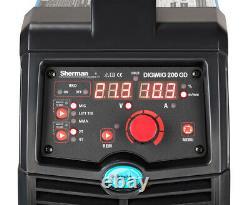 Sherman DIGIMIG 225GDS IGBT inverter welder MMA MIG Welding Machine + Spool Gun