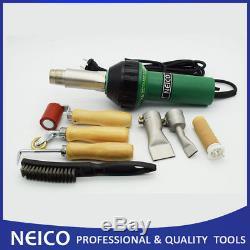 Single Ply Roofing Hot Air Welding Heat Gun Kit, Plastic Welder