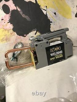 Stark Portable Electric Spot Welder 1/8 Single Phase Handheld Welding tip Gun