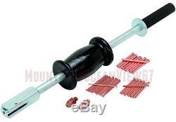 Stud Gun Welder Auto Body Repair Tools Dent Ding Puller Kit with 2 LB Slide Hammer