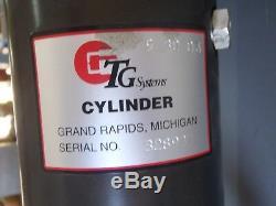 TG Systems GTS 2140 Spot Weld Gun, Robot Welder, Resistance Welding, Cylinder