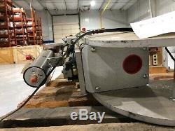 TG Systems GTS-2166 Rev. B Robotic Spot Welder Weld Gun with RoMan Transformer