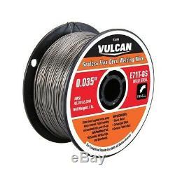 Titanium Easy-Flux 125 Amp Welder Wire Feeder & Gun 120V + Welding Helmet +MORE
