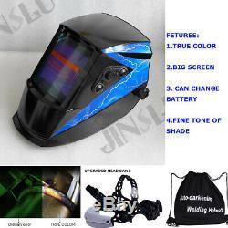 True Color + 101x94mm View + 2in1 Grind Welding Helmet TIG Welder MIG Gun Parts