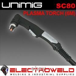 UNIMIG SC80 PLASMA TORCH 6M RAZOR CUT 45 80 Amp 80A GUN WELDING CUTTER WELDER