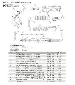 US SHIP 25AK MIG WELDING GUN 15' 250AMP Fit Airco Dip Pak 200 250 Mig Welder