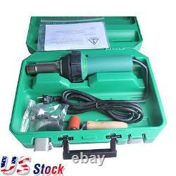 US Stock 1600W 110V Affordable Easy Grip Hand Held Plastic Hot Air Welding Gun