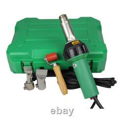 US Stock 1600W 110V Easy Grip Plastic Hot Air Welding Welder Gun with 2 Nozzeles