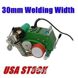 US Stock AC110V High Speed Hot Air Banner Welder Gun 30mm Welding Width CE