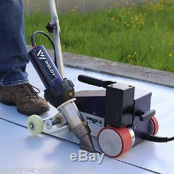USA AC220V Weldy Roofer Welding RW3400 Hot Air PVC Welder 40mm Nozzle + Air Gun