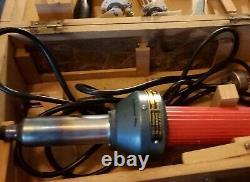 Vintage German Zinser Autogen Heat Gun Hot Air Torch Plastic Welding Gun Welder