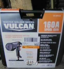Vulcan 160a Spool Gun Welding Spoolgun Master Welder Series New