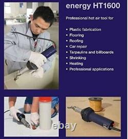 WELDY 1600W Hot Air Gun Heating Gun Plastic Welder Welding Gun for PVC TPO