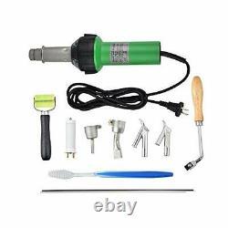 Welding Heat Gun, S SMAUTOP 1600W Handheld Plastic Welder 30-680 PVC Plastic