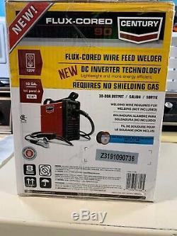 Welding Machine Flux Core Wire Feed Welder Gun 120V Lightweight Portable Automa
