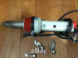 Zinser K5 Unitherm, Hot Air Welder Heat Gun, with 3 nozzles for heat welding